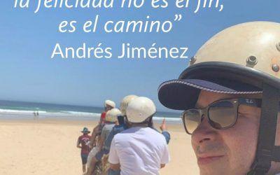 Disfruta el viaje, la felicidad no es el fin , es el camino.!
