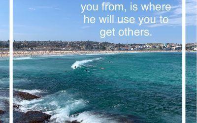 Dios Usará  tu pasado para que puedas salvar el futuro de muchas personas !.